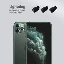 iPhone 11 Pro Charging Cover Lightning Plug Set 3 Pack Anti Dust Silicone Cap