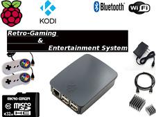 Raspberry Pi 3 Classic Retro Game Console w/ Kodi & Retropie Compatibilty 32GB