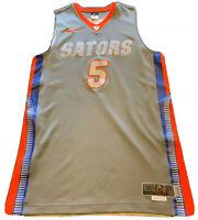Game Used Prototype Florida Gators Nike Basketball Jersey 2011 2012 #5 Mens NCAA
