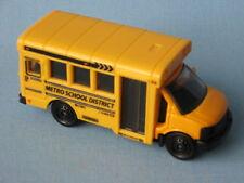 Matchbox GMC USA School Bus Metro Coach Yellow Toy Model Car in BP 70mm Long