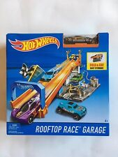 hot wheels ROOF TOP GARAGE and DAREDEVIL JUMP