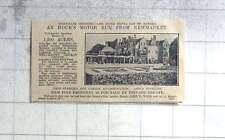 1927 Modern Elizabethan Mansion, Sporting Estate, 1200 Acres For Sale