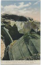 Belgium Fort Liège (Lüttich) Artillery Shelling German WW1 Postcard (A145)