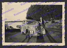 orig. Foto Agfa Prien Chiemsee Auto Opel Olympia Cabrio Reise Oberbayern 1937