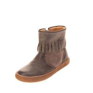 RRP €170 TWO CON ME By PEPE Kids Leather Ankle Boots Size 25 UK 8 US 9 Worn Look