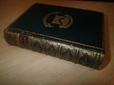 1897 The Seven Lamps of Architecture by John Ruskin, Fine Prize Binding.