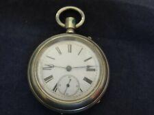 Antique C&B Porcelain Dial Pocket Watch Centennial Case 1776-1876