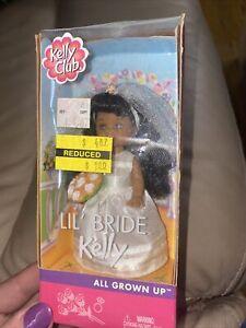 2002 LIL' BRIDE  KELLY CLUB All Grown Up Barbie & Kelly Friends