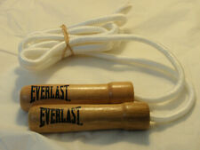 New EVERLAST Wood Handle Skip / Jump Rope 9.5 ft  ~ Home Exercise Equipment