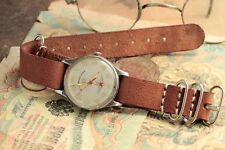 Poljot watch STURMANSKIE Gagarin 1 MChZ type II + leather strap at style NATO /S