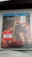 TRANSFORMERS: AGE OF EXTINCTION STEELBOOK [NEW/Blu-ray] Future Shop *** READ ***