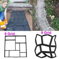 Spring Family DIY Driveway Paving Patio Concrete Slabs Brick Path Maker Mould UK