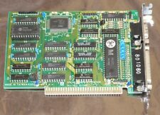 DTK CGA card with printer port works on 8-bit PC XT computer