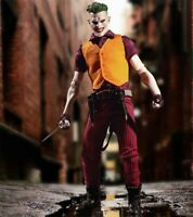 Joker Action Figure Mezco One:12 DC Comics High Quality Toy With Box