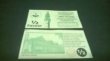 More details for 1/2  favour calderdale local currency banknote - unissued - black serial number