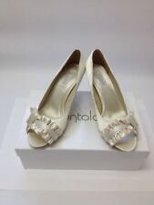 Bridal or Wedding Ribbon Stiletto Heels for Women