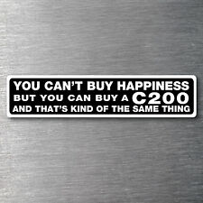 Buy a C200 sticker Premium 10 year vinyl water/fade proof Mercedes