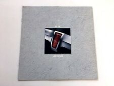 1998 Lincoln 12-page Sales Brochure Catalog - Town Car Continental Mark VIII