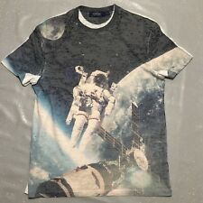 Mens T Shirt By Topman / Space Astronaut Design / Size Small / Very Stylish