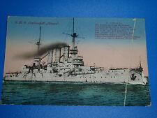 AK  Kaiserliche Marine, SMS Elsass 1915 ( 234 )