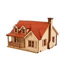 YM622 Ho-Series - Western House 2 - Wooden Model Kit