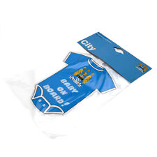 Manchester City Football Club Car Hang Up Blue Baby On Board MCFC Light Blue Man