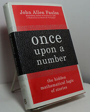 Once Upon a Number by John Allen Paulos - First edition