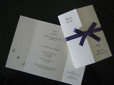 75 DIY Gatefold Personalised Wedding Invitations