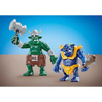 Playmobil Two Giant Trolls Building Set 6593 NEW Learning Toys
