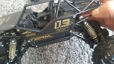 Rc truck 4 x 4 rock crawler off road vehicle black new age 14 years old