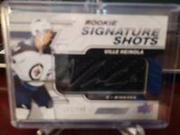 2019-20 Engrained SIGNATURE SHOTS VILLE HEINOLA #147/249 WINNIPEG JETS AUTO RC