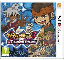 Inazuma 11 Eleven Part III 3 Team Ogre Attacks 3DS Nintendo Video Game UK Compat