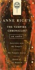 THE VAMPIRE CHRONICLES Lestat Three Audio Cassettes Anne Rice Audiobook SEALED