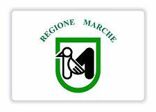 Marche Flag Sticker Italy Bumper Decal Helmet Motorcycle Laptop Truck Door Car