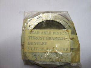 Bentley 3 litre,41/2 litre rear axle pinion thrust bearing