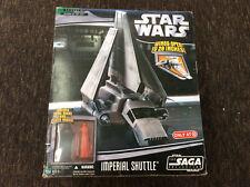 Star Wars Saga Target Exc Imperial Shuttle w/ Darth Vader & Royal Guard New!