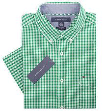 Tommy Hilfiger Men's Short Sleeve Button-Down Plaid Casual Shirt - $0 Free Ship