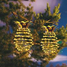 Solar Garden lights Pineapple Outdoor Solar Garden Hanging Lanterns Waterproof