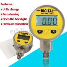 Digital Hydraulic Pressure Gauge 0-250BAR/25Mpa/3600PSI (NPT1/4) -Base Entry New
