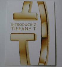 Tiffany & Co Introducing T Jewelry Collection Large Postcard Rare Card New