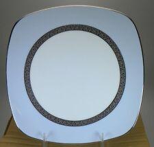 Noritake Piedmont Platinum Square Accent Plate