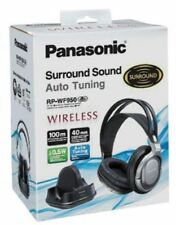 Panasonic RP-WF950EB-S Wireless Over Ear Headphones with Surround Sound - Silver