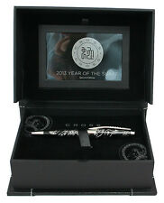 Cross 2013 Year Of The Snake Collection Black Lacquer Ballpoint Pen $325.00