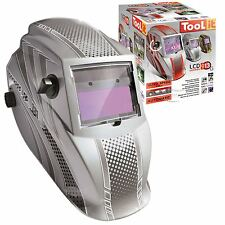 Auto Darkening Solar LCD Filter MMA/TIG/MIG/GRIND Welding Large Helmet Mask