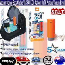 VAC Pack Go Pump as Seen on TV Vacuum Storage Bag Pump