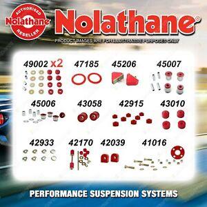 Front Nolathane Suspension Bush Kit for HOLDEN H SERIES HQ HJ HX HZ WB 1971-1985