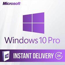 Windows 10 Professional 32 & 64-Bit MS Win 10 Pro Activation Key Product Code