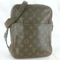 Auth LOUIS VUITTON PETIT MARCEAU Shoulder Bag Purse Monogram M40264 Brown