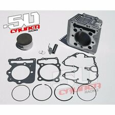 Honda XR400 Top end cylinder rebuild overhaul ring Piston kit 1996 - 2015 TRX
