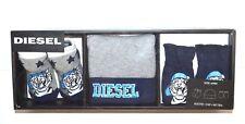 DIESEL Baby Boys Gift Set Booties Cap & Mitten New in Gift Box 0 - 6 Months